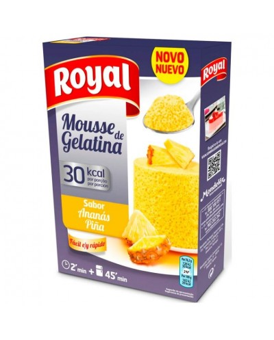 GELATINA ROYAL MOUSSE PIÑA 31G