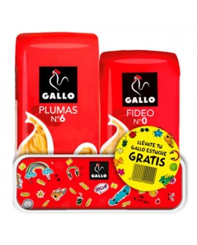 FIDEOS Y PLUMAS GALLO CON...