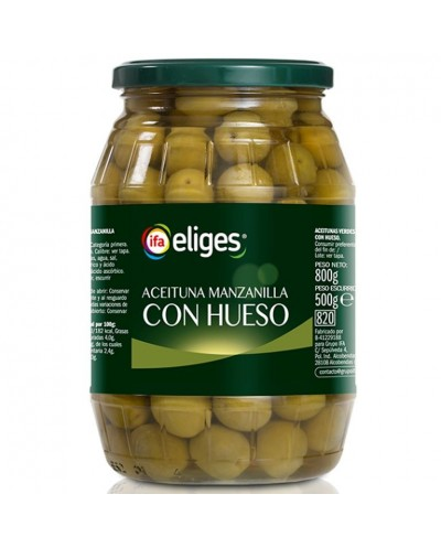 ACEITUNAS IFA CON HUESO...