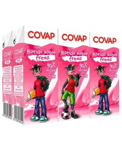 BATIDOS COVAP FRESA 6X200ML