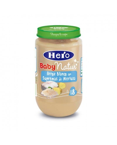 HERO BABY ARROZ MERLUZA 250G