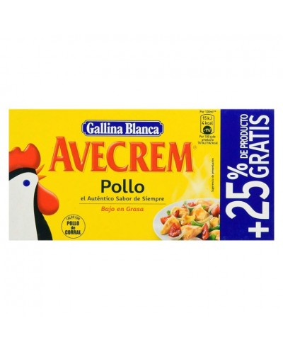 CALDO POLLO AVECREM 8+2 PAST