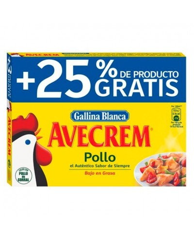 CALDO POLLO AVECREM 12+3 PAST