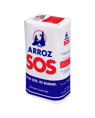 ARROZ SOS BOLSA 1KG
