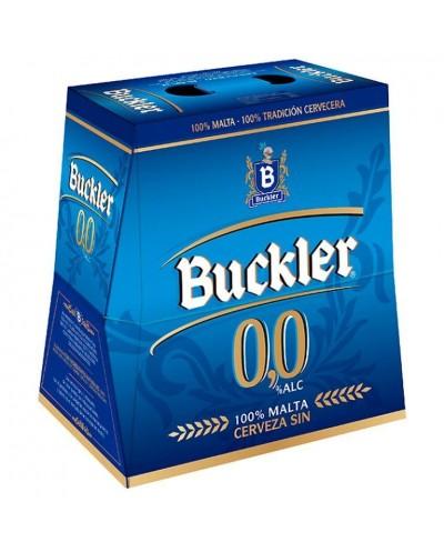 CERVEZA BUCKLER 0,0% 6X25CL
