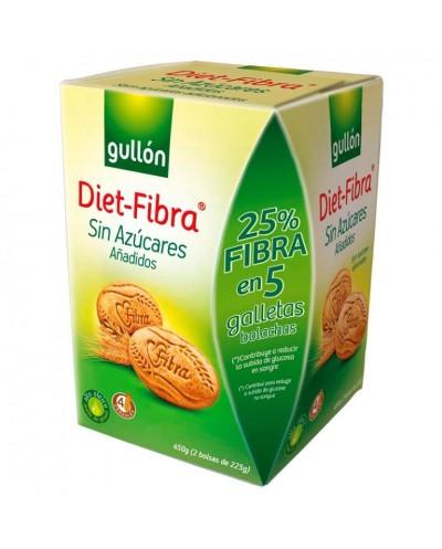 GULLON DIET FIBRA 450G