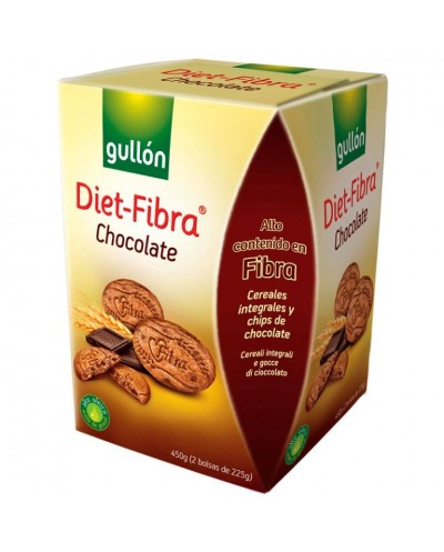 GULLON DIET FIBRA CHOCO 450G