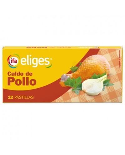 CALDO IFA POLLO PASTILLAS 12UD
