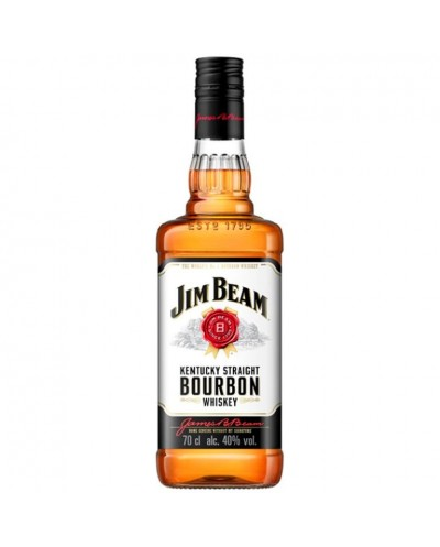 BOURBON JIM BEAN WHISKY 70CL