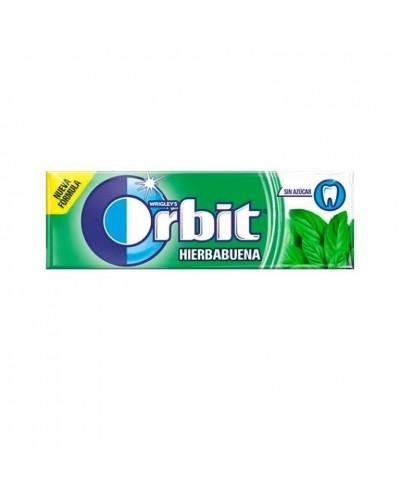 CHICLES ORBIT HIERBABUENA 10UD