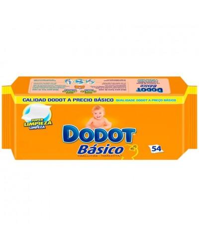 TOALLITAS DODOT BASICO 54UD