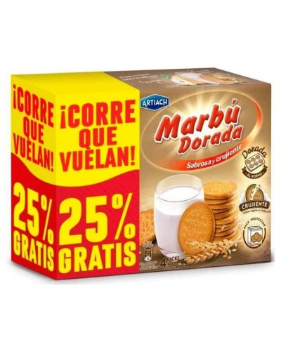 GALLETAS MARBU DORADA 800G