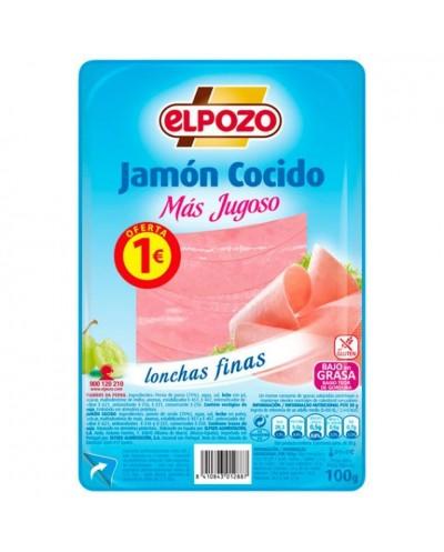 JAMON COCIDO ELPOZO 110G