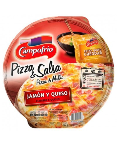 PIZZA CAMPOFRIO JAMON QUESO...