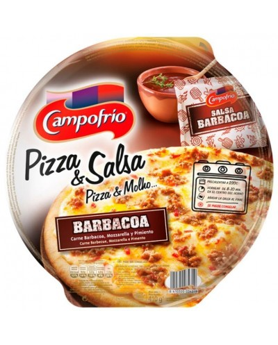 PIZZA CAMPOFRIO BARBACOA 410G