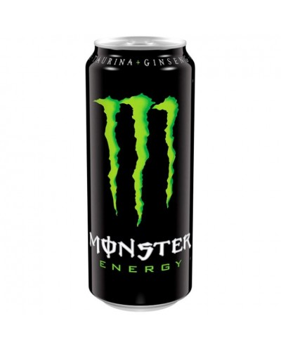 MONSTER ENERGY VERDE 500ML