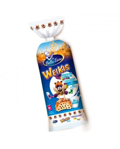 BOLLITOS LECHE WEIKIS 4UD