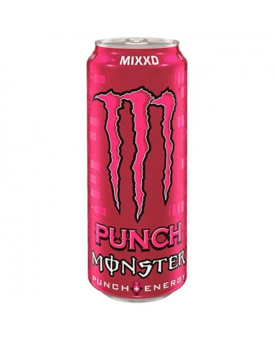 MONSTER ENERGY PUNCH 50CL