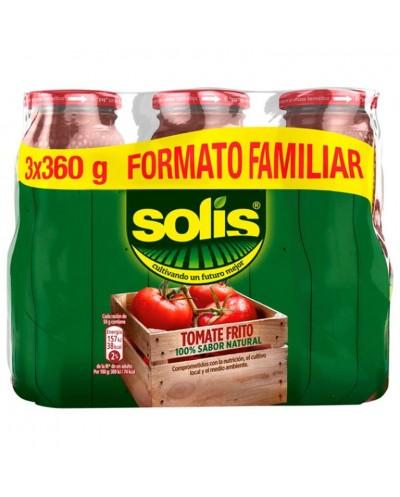 TOMATE FRITO SOLIS 3X360G