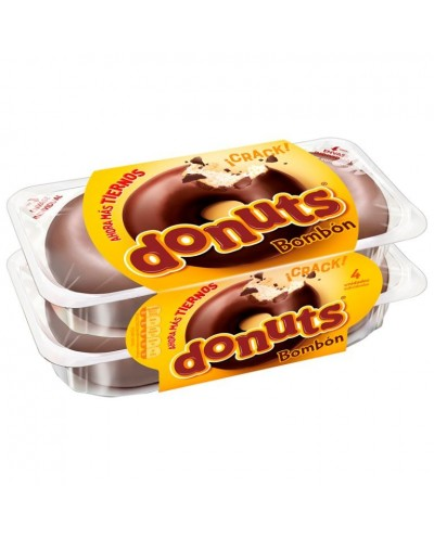 DONUTS CHOCOLATE 4UD 220G