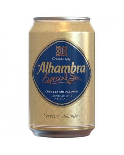 CERVEZA ALHAMBRA SIN 33CL
