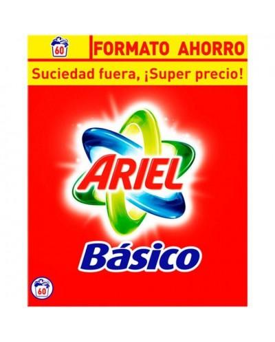 DETERG POLVO ARIEL BÁSICO 60D