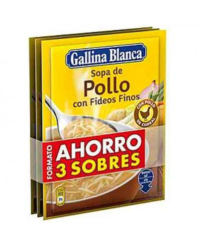 SOPA POLLO G BLANCA FIDEOS...