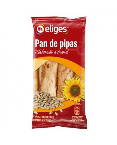 PAN DE PIPAS IFA 2X90G