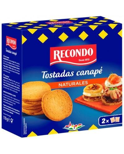 TOST CANAPE RECONDO REDON 110G