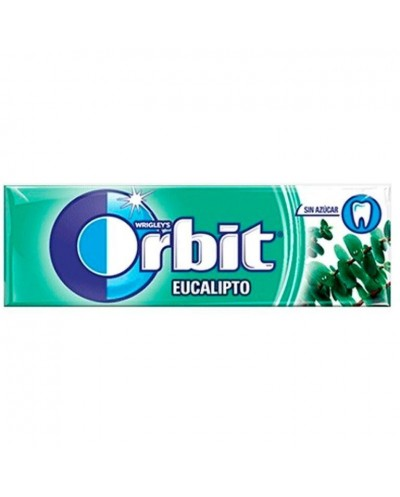 CHICLES ORBIT EUCALIPTO 10...