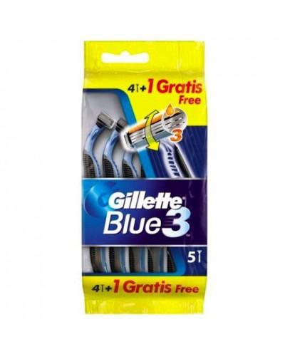 CUCHILLAS GILLETTE BLUE3 4+1UD