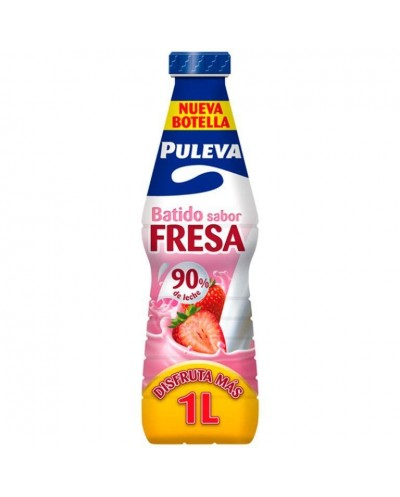 BATIDO PULEVA FRESA 1L