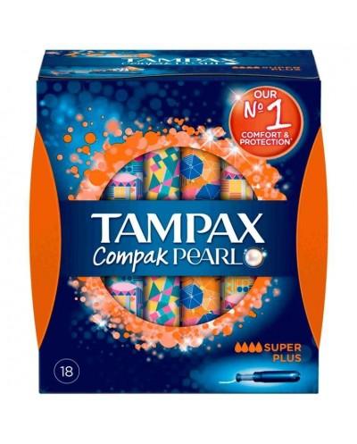 TAMPAX COMPAK PEARL SUP...