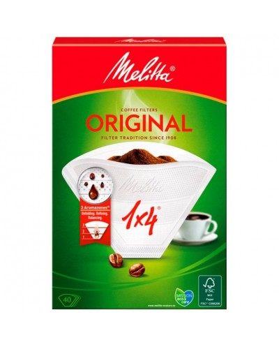 MELITTA FILTRO CAFE 40UD