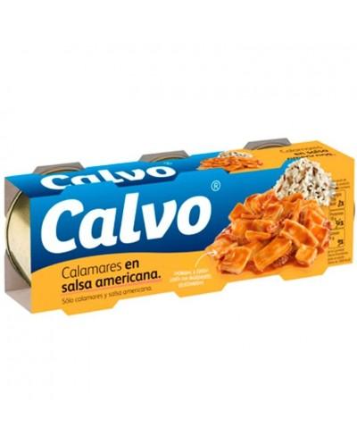 CALAMARES CALVO S AMERIC 3X80G