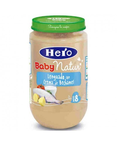 HERO BABY LENGUADO BECHAM 250G