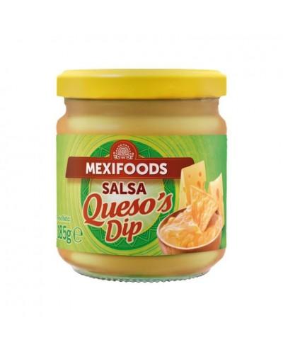 SALSA DE QUESO MEXIFOODS 185G