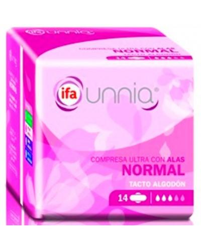 COMPRESAS IFA ALAS NORMAL 14UD
