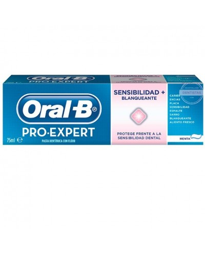 ORAL-B PRO SENSIB+BLANQ 75ML