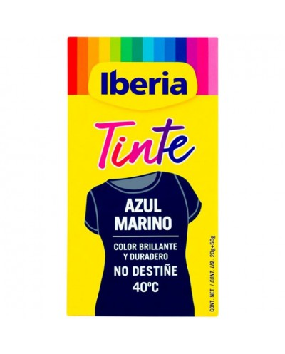 TINTE IBERIA AZUL MARINO 2UD
