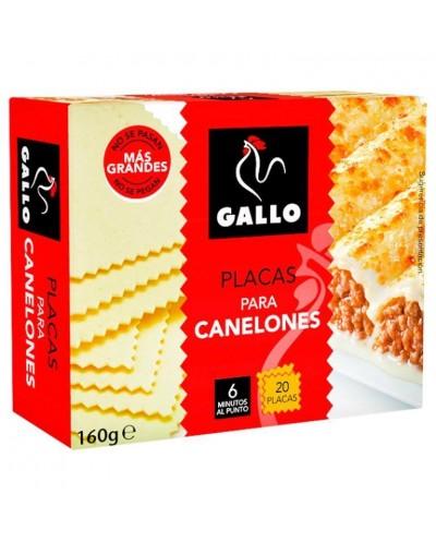 CANELONES GALLO 20UD 160G