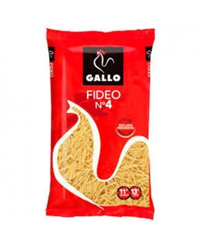 FIDEOS GALLO N-4 250G