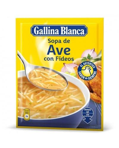 SOPA AVE FIDEOS GALLINA...