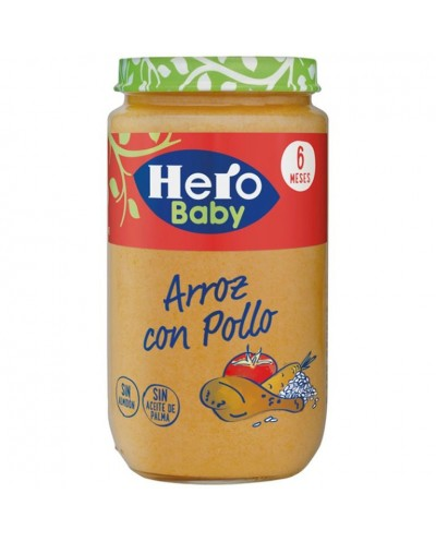 POT HERO BABY ARROZ POLLO 235G