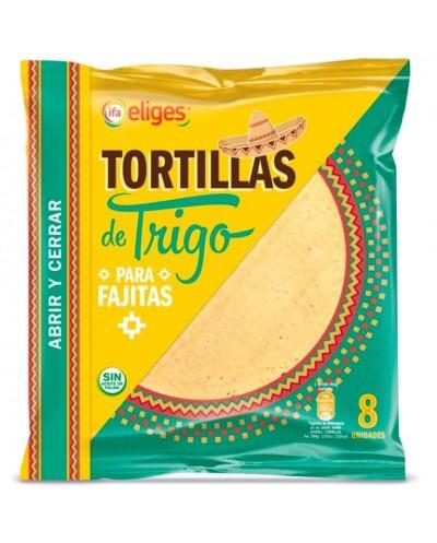 TORTILLAS DE TRIGO IFA 8UD...