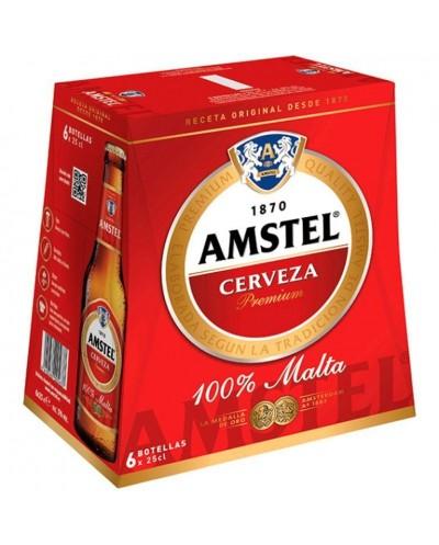 CERVEZA AMSTEL PACK 6X25CL