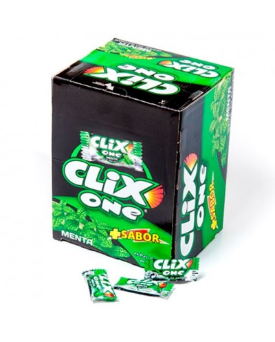 CHICLES CLIX ONE MENTA 200UD