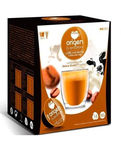 CAFE ORIGEN CAFE CON LECHE...