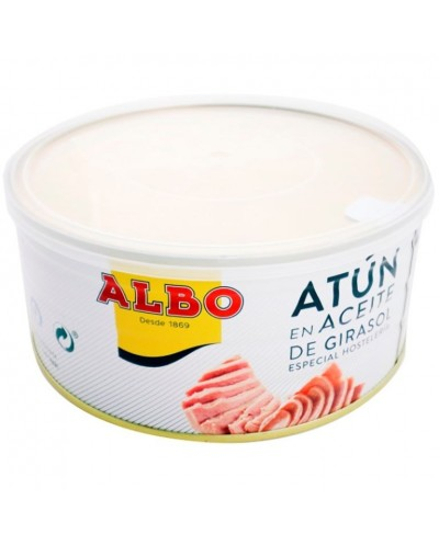 ATUN ALBO ACEITE VEGETAL 900G