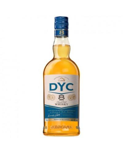 WHISKY DYC 8 AÑOS 70CL